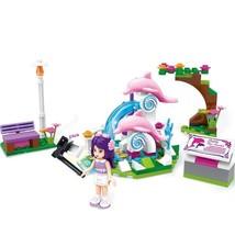 Cherry's Dolphin Action Building Blocks Model Set Brick Toy - $14.25