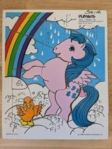Vintage 1984 My Little Pony Sprinkles Playskool 11 Pc Tray Puzzle Complete 189-4 - $9.13