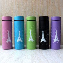 Fashion 304 Stainless Steel Vacuum Handy Travel Mug Eiffel Tower Insulat... - $10.98