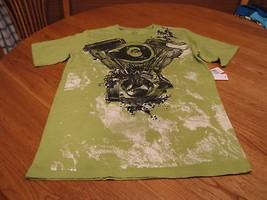 Boy's Youth Calvin Klein t shirt NEW NWT  moss Green L - $13.85