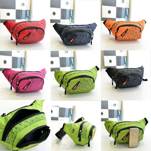 Primary image for Hot Outdoor Cycling Travel Hiking Chequer Waist Pack Fanny Bag Chest Backpack