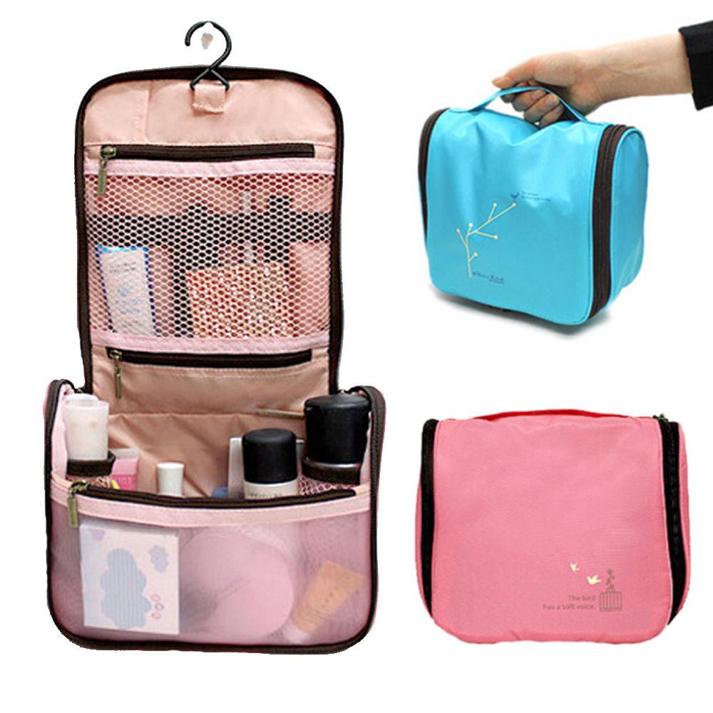 Men Ladies New Grooming Makeup Case Toiletry Hanging Travel Wash Bag Organizer