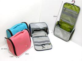 Men Ladies New Grooming Makeup Case Toiletry Hanging Travel Wash Bag Organizer image 7