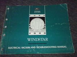 1998 FORD WINDSTAR VAN Electrical & Vacuum Troubleshooting Shop Manual EVTM - $11.01