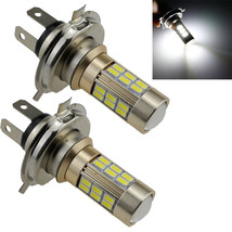 2 X Super White 27 SMD LED H4 5630 Tail Backup Fog Camper Interior Light Bulbs - $12.81