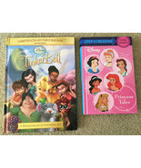 2 Disney Book Lot • Tinker Bell Limited Collectors Edition & Princess Tales - $9.85