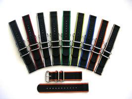 NATO G10® 2pc EDGE™ Heavy Ballistic Nylon Watchband Watch Strap Nylon Band - $15.95
