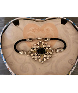 Brigton Bracelet Silver with Gold and Black Stone Boxed - $24.14