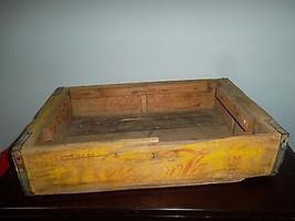 Vintage Coca~Cola wooden sale/delivery/carry case~four six pack bottles~ - $49.45