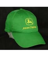 John Deere Green Baseball Cap Hat Snapback VGUC Box Shipped - $12.99