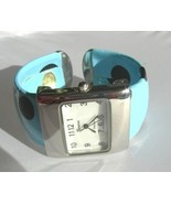 Geneva Light Blue Cuff Watch - $9.99