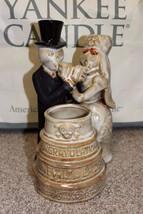 NEW YANKEE CANDLE BONEY BUNCH 2010 CONGRATS NEWLY DEAD BRIDE/GROOM VOTIV... - $85.49