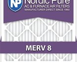 20x20x5 Lennox Replacement MERV 8 Air Filters Qty 1 20x20x5L1M8-1