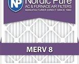 20x25x5 Lennox Replacement MERV 8 Air Filters Qty 2 20x25x5L1M8-2
