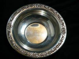 Vintage Sheridan Silverplate Round Ornate Pattern on Rim Small Bowl image 3