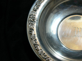 Vintage Sheridan Silverplate Round Ornate Pattern on Rim Small Bowl image 4