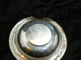 Vintage Sheridan Silverplate Round Ornate Pattern on Rim Small Bowl image 7