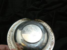 Vintage Sheridan Silverplate Round Ornate Pattern on Rim Small Bowl image 6