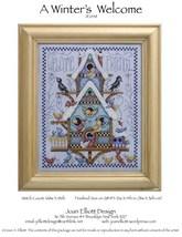 A Winter's Welcome JE048 cross stitch chart Joan Elliott Designs - $14.00