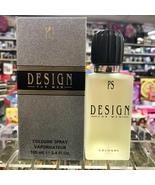 Design by Paul Sebastin for Men 3.4 fl.oz / 100 ml Cologne spray, Rare f... - $128.98