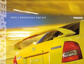 2003.5 Mazda Mazdaspeed Protege Brochure Catalog 03 1/2 Us - $12.00