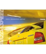 2003.5 Mazda MAZDASPEED PROTEGE dlx brochure catalog folder 03 1/2 US - $12.00