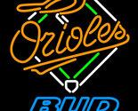 Mlb bud light baltimore orioles neon sign 16  x 16  thumb155 crop