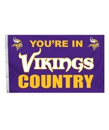 Minnesota Vikings 3 X 5 - NFL - You're In Count... - $28.04