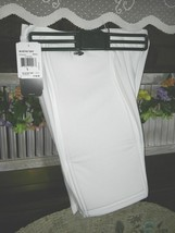 Adidas Clima365 White Athletic/Soccer/Run/Workout Short Sz (L) Large NWT - $23.38