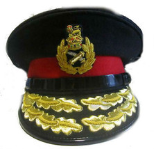 Uk Royal Army General Prince Charles Hat New Size 57 To  61, Hi Quality Co Made - $166.32