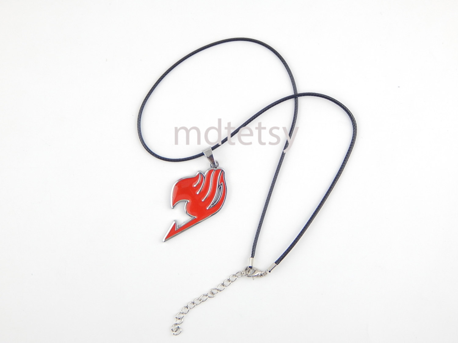 Primary image for Red fairy tail Natsu Dragneel Guild symbol Pendant Necklace