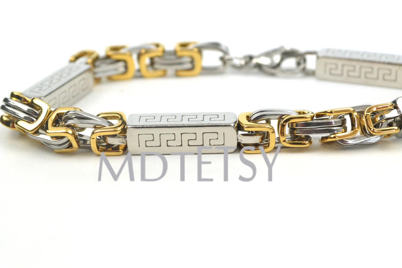 Greek Key Symbol Byzantium Link Chain And 50 Similar Items