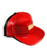 Unisex Fashion Shiny Leather Rectangle Adjustable Snapback Hip-hop Baseb... - $7.99
