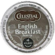 Celestial Seasonings English Breakfast Tea, 96 K cups, FREE SHIPPING Keurig Kcup - $64.99