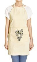 Vietsbay's Cat Portrait Printed Canvas Apron APR - $287,34 MXN