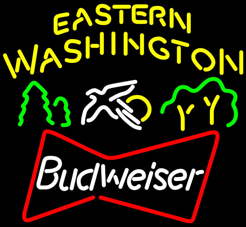 Budweiser Eastern Washington Neon Sign