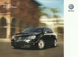 2010 Volkswagen JETTA brochure catalog US 10 VW SE SEL TDI SportWagen - $9.00