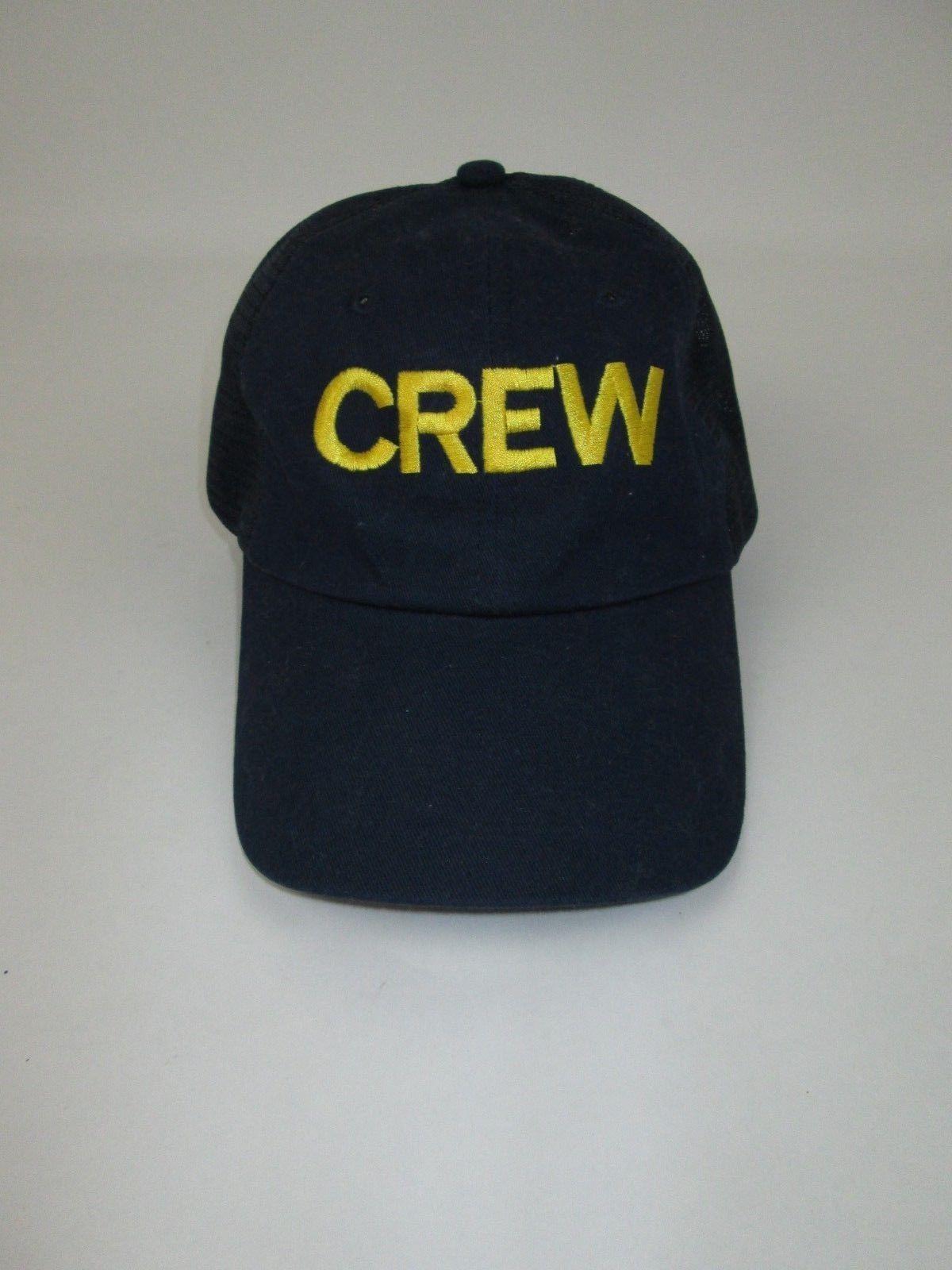 outlet store 1e3e5 83722 Men s CREW Mesh Back Trucker Hat Cap Navy and 50 similar items