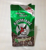 GREEK COFFEE LOUMIDIS PAPAGALOS TRADITIONAL GROUND BEANS 96 grm  - $9.99