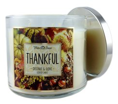Thankful chestnut   clove candle thumb200