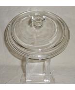 PYREX CORNING WARE #P-81-C Round Clear Glass Li... - $10.95