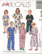 McCall 8311 Children (Size 6,7) robe, nightshirt and pajamas UNCUT - $2.00