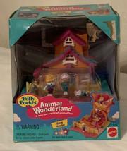 Mattel Bluebird Polly Pocket Animal Wonderland Dog House PlaySet 1995 New - $222.45