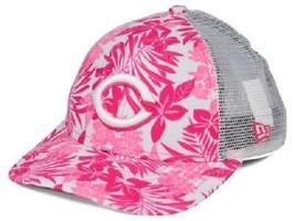 Cincinnati Reds MLB New Era 9Forty Flower Power Youth Snapback Hat - $12.82