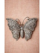 Vintage Style 2.77CT Rose Cut Diamond 925 Silver Butterfly Brooch Pin CJ... - $427.03