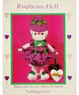 Dumplin Designs Raspberry Fluff Crochet Pattern Leaflet CDC 410 1984 - $6.25