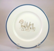 Williams-Sonoma Replacement Les Fermie'rs plate   White Porcelain Grey/B... - $7.91