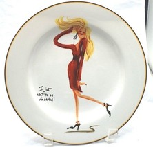 """Sakura Glamour Girls """"I Just Want To Be Wonderful!"""" 8 1/4"""" Replacement Plate - $5.93"""