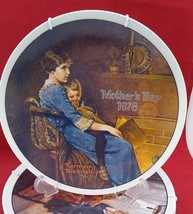 """Norman Rockwell 1978 Mother Day Porcelain plate """"Bedtime"""" with free Hang... - $7.91"""