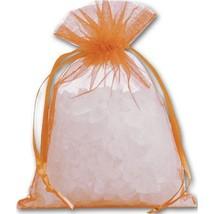 Orange Organdy Bags - 36 count - $8.00+
